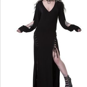 New! Killstar libra rising Maxi Dress Sz XL